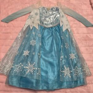 Authentic Disney Queen Elsa from Frozen Costume